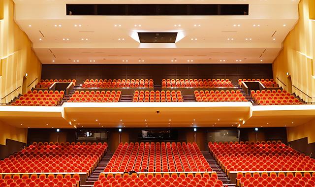 施設紹介 大ホールの画像