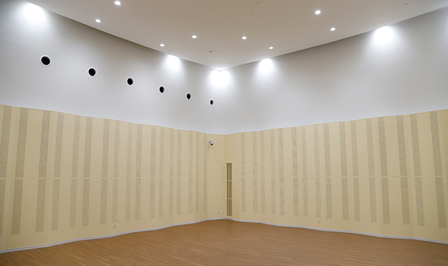 施設紹介 練習室1兼ミニホールの画像